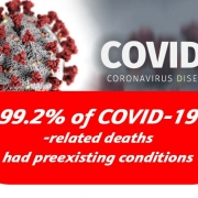 99.2% of COVID-19 -related deaths had preexisting conditions